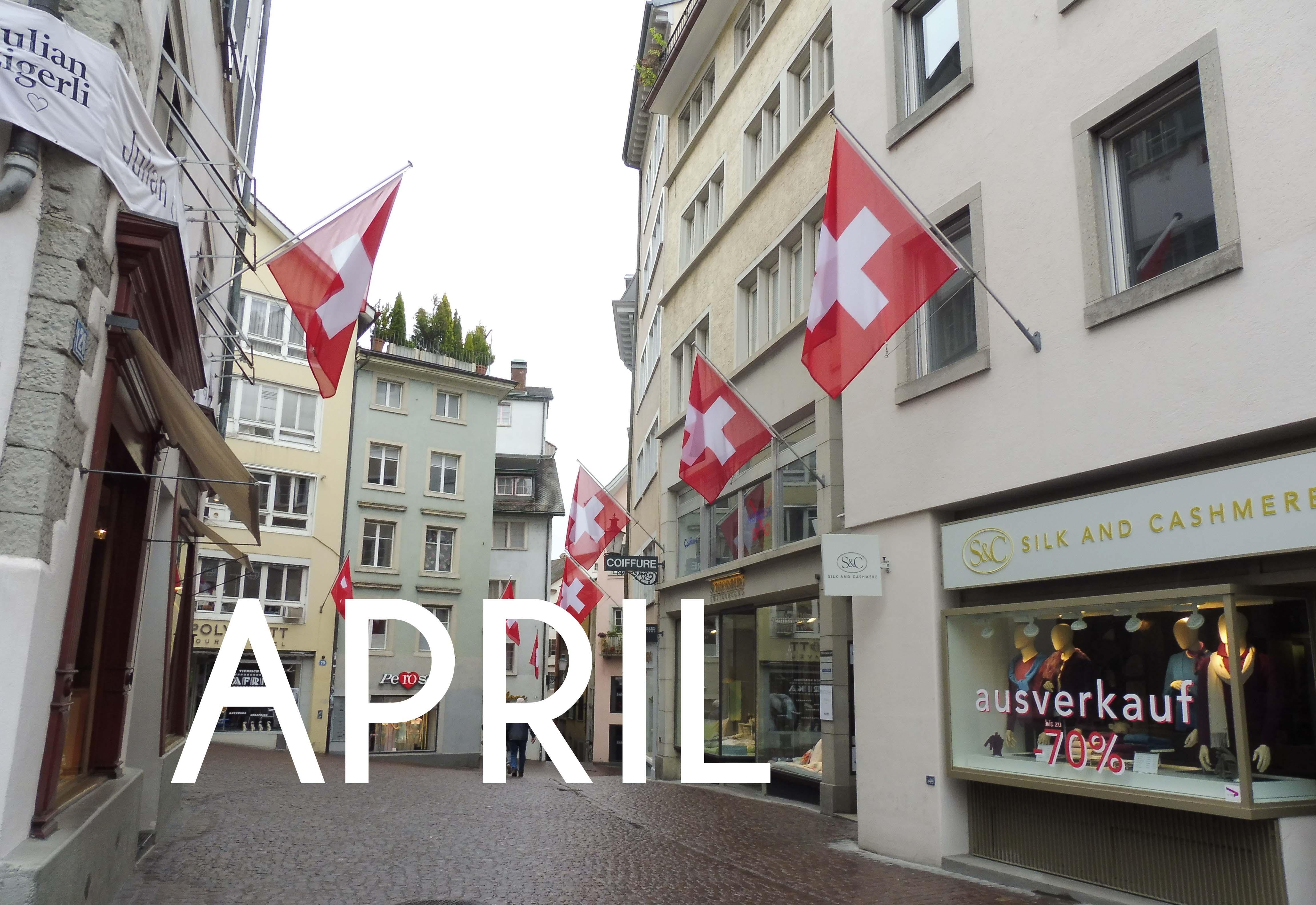 March & April